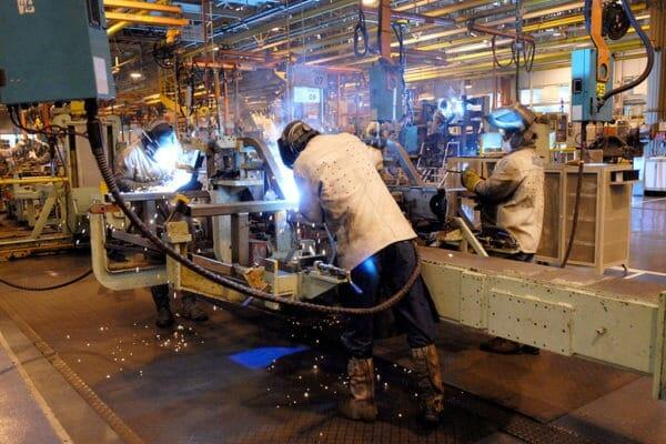 Fábrica da Mercedes-Benz em São Paulo